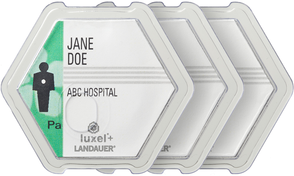 luxel-dosimetry-badges-for-occupational-radiation-measurement-and-safety-in-hospital-and-small-health-care-practices