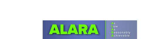 ALARA is the guiding principle for all tasks that involve ionizing radiation or radioactive materials.