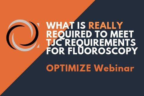 Fluoroscopy Webinar by Radiation Dose Monitoring Software Specialist
