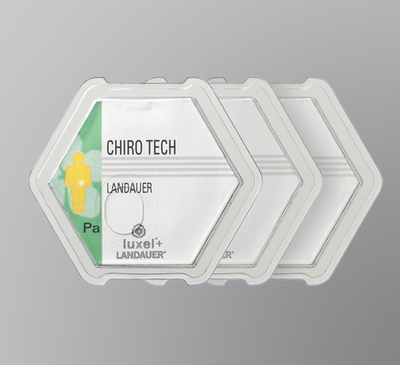 Luxel Dosimeter Badges for professional offices